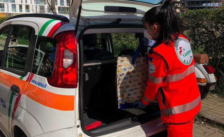 La Pubblica Assistenza di Pisa continua con le attività di solidarietà alimentare
