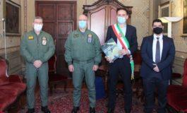 Il sindaco Michele Conti incontra il generale Gianni Candotti