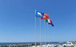 Litorale pisano: confermate quattro Bandiere Blu per Marina, Calambrone, Tirrenia e Porto di Pisa