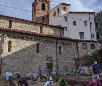 Al via la seconda campagna di scavo archeologico nel giardino della chiesa di San Sisto
