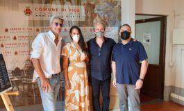 Giardino Scotto, video artistico dedicato a Pisa con Roberto Farnesi e Chantal Pistelli