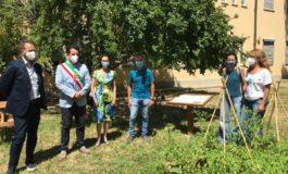 Inaugurata l'Aula Natura alla scuola Genovesi