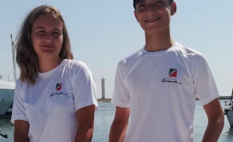 La Scuola Vela Mankin seleziona ben due equipaggi U17 al 420 Junior European Championship