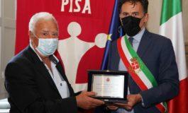 Pisa rende omaggio al maresciallo De Luca