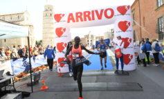 Pisa Half Marathon, impresa della Jerotich